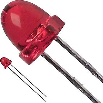 LED wired Red Circular 5 mm 50 mcd 30 °