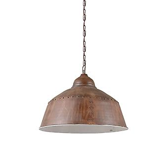 QAZQA Pendant Lamp Barun Weathered Rust