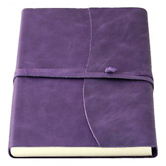 Coles Pen Company Amalfi Medium Journal - Aubergine Purple