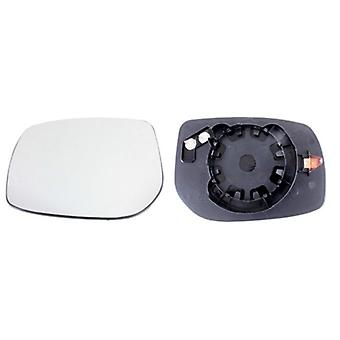 Left Mirror Glass (heated) & Holder for TOYOTA AURIS 2006-2012