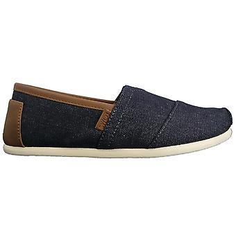 Toms calzado Alpargata del dril de algodón cuerda ajuste único
