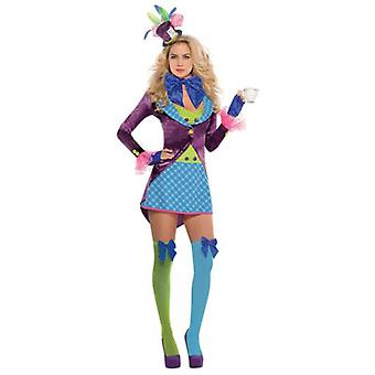 Amscan Costume Mad Hatter Girl for Adult (Babies and Children , Costumes)