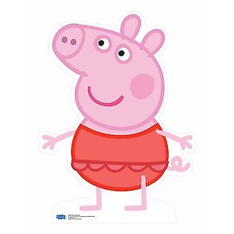 Peppa Pig wearing swimsuit Lifesize Cardboard Cutout / Standup