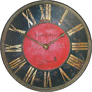 Roger Lascelles Turret design Wall Clock