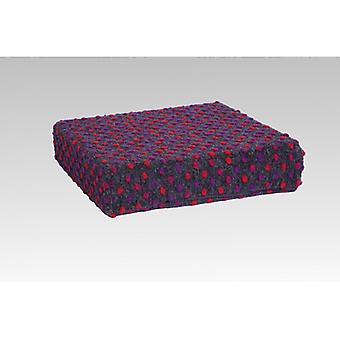 Booster seat stand-up help anthracite coloured cushion 40 x 40 x 10 cm
