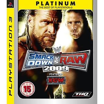 WWE Smackdown Vs. Raw 2009 - Platin-Edition (PS3)