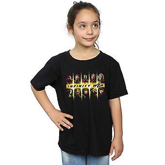 Marvel jenter Avengers uendelig krig Team besetningen t-skjorte