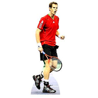 Andy Murray en carton grandeur nature Découpe
