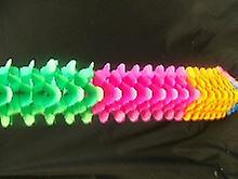 الزخارف الملونة المتعددة مكعبة غارلاند (1)