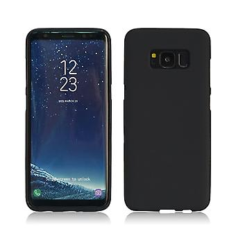 Soft matte black cover for Samsung Galaxy S8