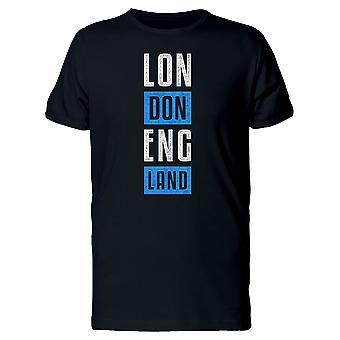 London England Graphic Tee Men's -Image by Shutterstock