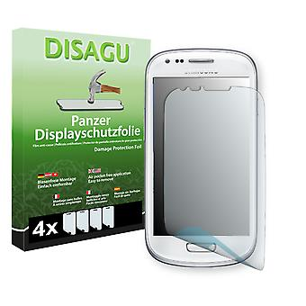Samsung I8190 Galaxy S3 mini Crystal Edition display protector - Disagu tank protector protector (deliberately smaller than the display, as this is arched)