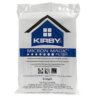 Kirby Allergen reduktion Filter Sentria 6 Pack OEM # 204811