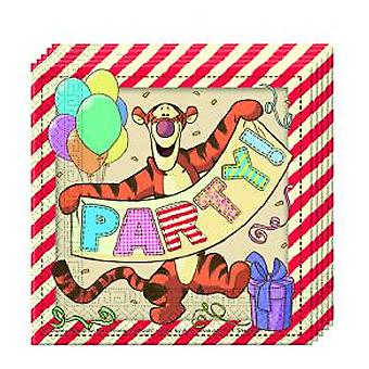 Winnie the Pooh Winnie the Pooh party napkins 33 x 33 cm 20pcs children birthday theme party