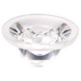 LED optics Water clear Transparent 15 ° No. of LEDs (max.): 1