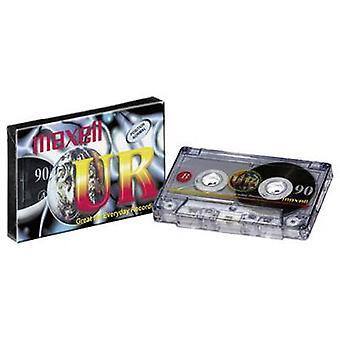 Maxell UR 90 90min vuoto Casette Audio nastro