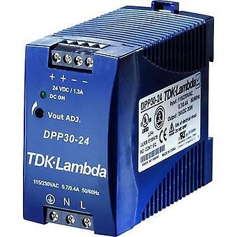 Rail mounted PSU (DIN) TDK-Lambda DPP-50-15 15 Vdc 3.4 A 50 W 1 x