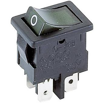 Marquardt Toggle switch 1855.1108 250 V AC 4 A 2 x Off/On IP40 latch 1 pc(s)