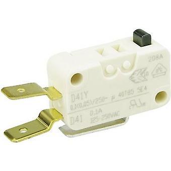 Cereja interruptores Microswitch D413-V3AA 250 V AC 0,1 A 1 x On/(On) momentâneo 1 computador (es)