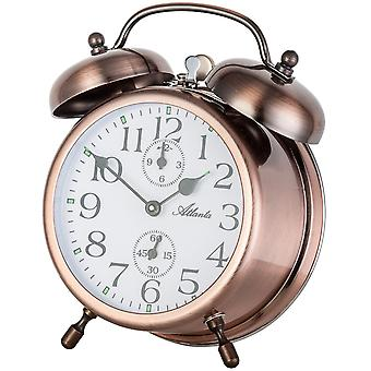 Atlanta mechanical double Bell alarm clock
