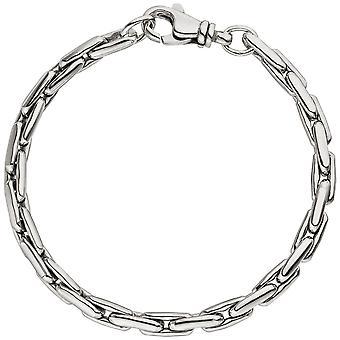 Bransoletka sillbernes w srebro 925 rodowane galwanicznie carabiner silver bransoleta 19 cm