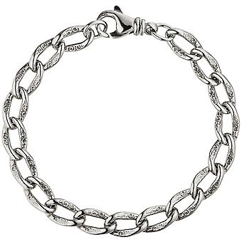 Armor bracelet 925 sterling silver with tree silver bracelet 19 cm
