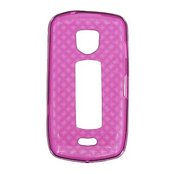 OEM Verizon High Gloss Silicone Case for Samsung DROID Charge i510 (Purple) (Bulk Packaging)