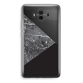 Huawei Mate 10 Transparent Case (Soft) - Marble combination
