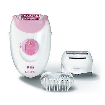 Braun SE3270 Silk-Epil 3 Leg & Body Epilator & Shaver With Massaging rollers