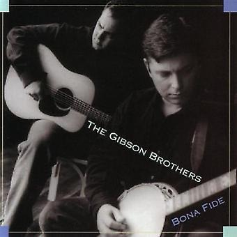 Gibson Brothers - Bona Fide [CD] USA import