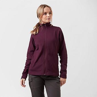 New Berghaus Women's Hartsop Insulated Full-Zip Fleece Purple