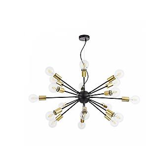 Maytoni Lighting Jackson LOFT Pendant, Black