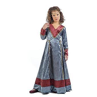 Medieval girls Jimena child costume damsel noblewoman child costume