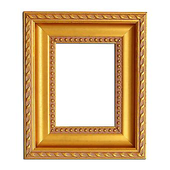 7 x 11 cm of 2 7/8 x 4 3/8 inch, foto frame in goud