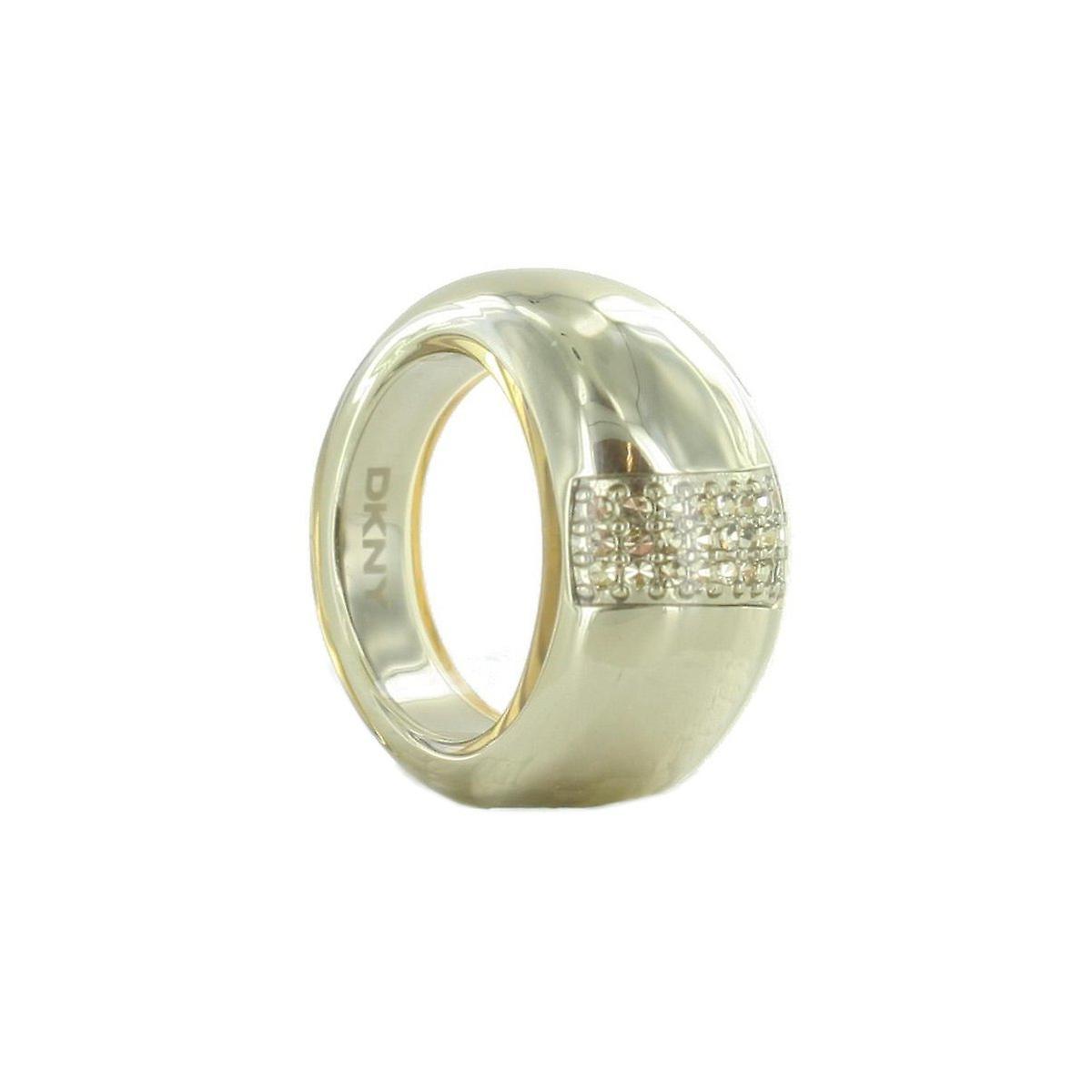 DKNY Damen Ring Edelstahl NJ1010040 Gr. 56 (17.8 mm Ø)