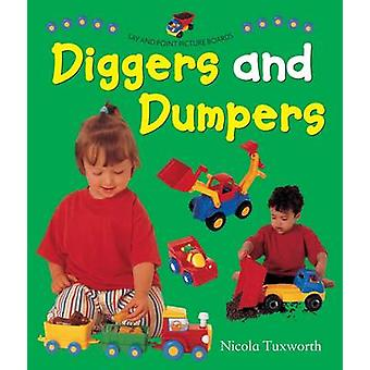 Say and Point Picture Boards - Diggers and Dumpers by Nicola Tuxworth