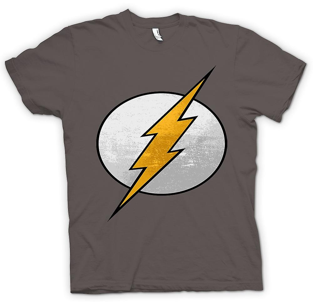 Mens T-shirt - het Flash Logo - Cool