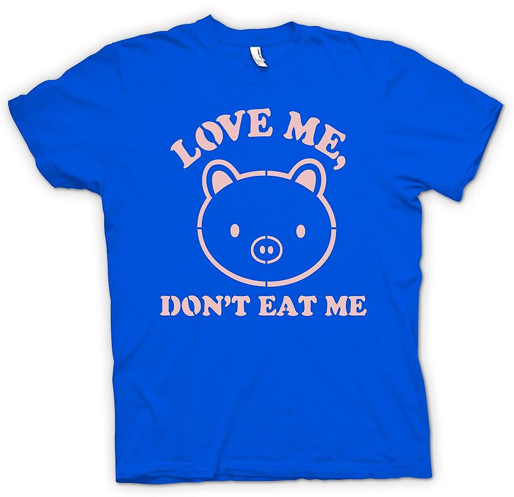 Mens T-shirt - Love Me, Don�t Eat Me - Funny