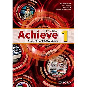 Alcançar: Nível 1: livro do aluno e Workbook