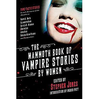 Mammut boken av Vampire berättelser av kvinnor