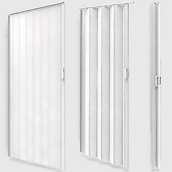 Porte accordéon pliante coulissante extensible PVC salle de bain 203 cm 2001060