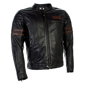 Richa Petrol Brown Curtiss Motorcycle Leather Jacket