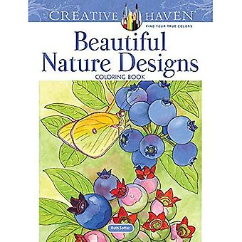 Creative Haven Beautiful Nature Designs Coloring Book