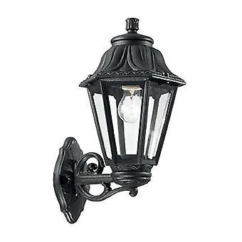 Ideel Lux - Anna Black Semi Flush væg lys IDL101491