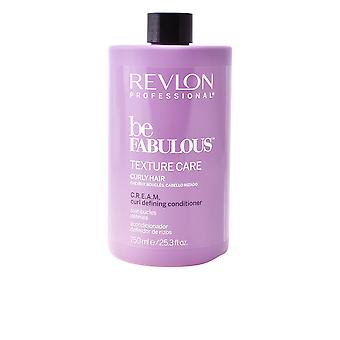 Revlon Be Fabulous Curly Conditioner 750ml Unisex New Sealed Boxed