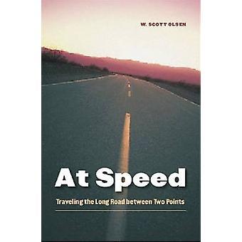 Mit Geschwindigkeit reist des langen Weges zwischen zwei Punkten von Olsen & W. Scott