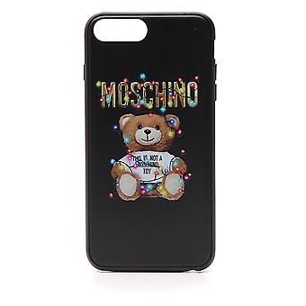 Moschino Black Rubber Cover