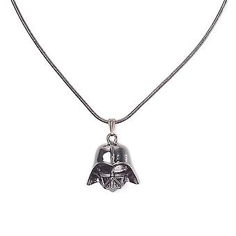 Star Wars Necklace Darth Vader Helmet new Official Black
