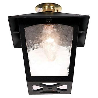 Traditional Outdoor Old English Style Flush Porch Lantern IP44