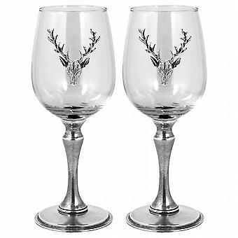 Stag Double Wine Glass - Stag107